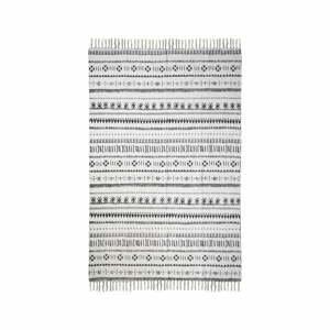 Čierno-biely bavlnený koberec HSM collection Colorful Living Manio, 120×180 cm