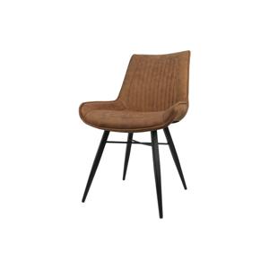 Koňakovohnedá jedálenská stolička HSM collection Denver