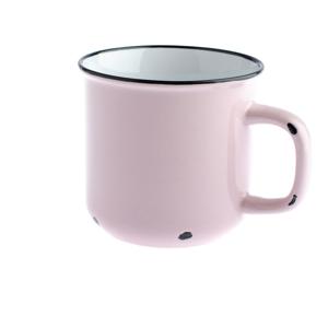 Ružový keramický hrnček Dakls, 440 ml
