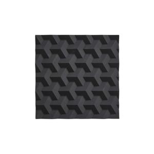 Čierna silikónová podložka pod horúce nádoby Zone Origami Fold