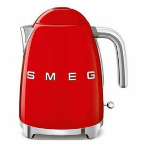 Červená varná kanvica SMEG