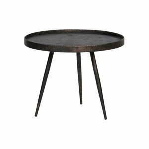 Čierny odkladací stolík BePureHome Bounds, ø 58 cm