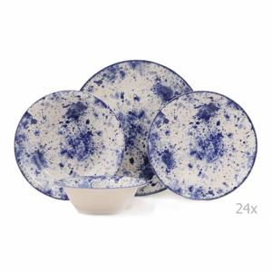 24-dielna sada porcelánového riadu Kutahya Jundo