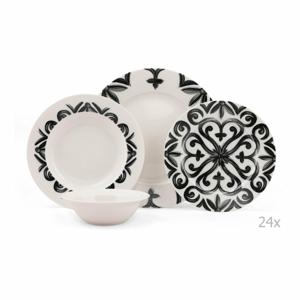 24-dielna sada porcelánového riadu Kutahya Bangio