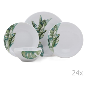 24-dielna sada porcelánového riadu Kutahya Tracio