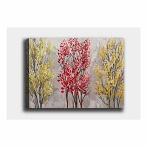 Nástenný obraz na plátne Tablo Center Fall Red, 50 × 70 cm