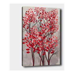 Nástenný obraz na plátne Tablo Center Fall Red, 40 × 60 cm