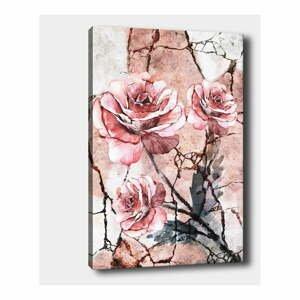 Nástenný obraz na plátne Tablo Center Lonely Roses, 40 × 60 cm