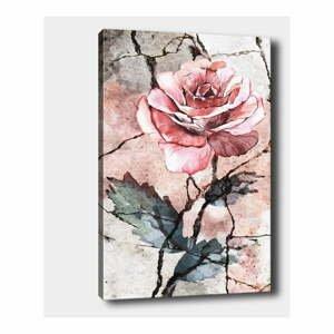 Nástenný obraz na plátne Tablo Center Rose, 40 × 60 cm