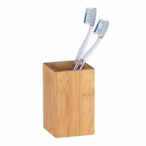 Bambusový téglik na zubné kefky Wenko Padua