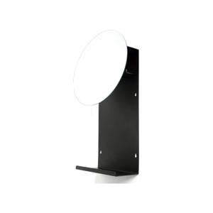 Čierne nástenné zrkadlo Canett Joy