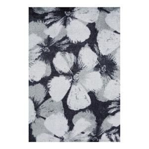 Sivý koberec White Label Grau, 50 x 70 cm