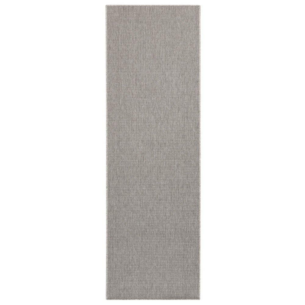 Sivý behúň BT Carpet Nature, 80 x 150 cm
