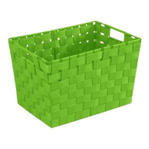 Zelený košík Wenko Adria, 25,5×35 cm
