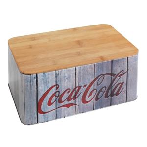 Chlebník s bambusovým vekom Wenko Coca-Cola World