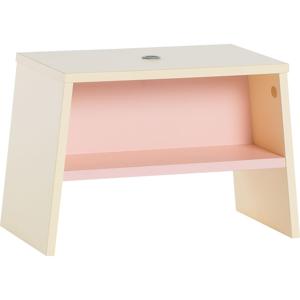 Žlto-ružová detská stolička Vox Tuli