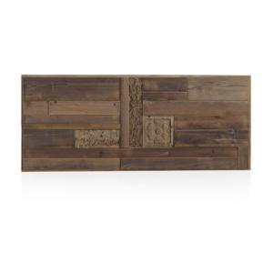 Drevené posteľové čelo Geese Rustico, 60 × 145 cm