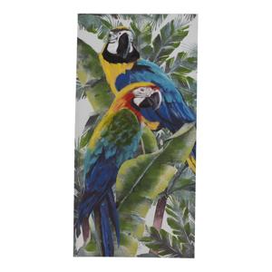 Nástenný obraz na plátne Geese Modern Style Parrot Quatro, 60 × 120 cm