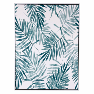 Obraz sømcasa Blue Palm, 60 × 80 cm