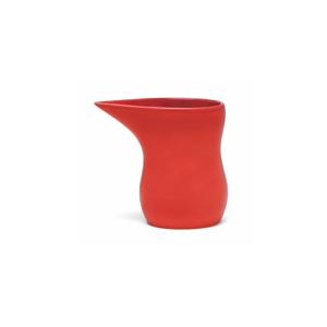 Červená kameninová nádoba na mlieko Kähler Design Ursula, 280 ml