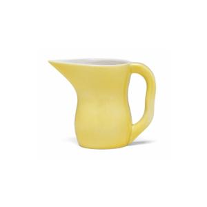 Žltá kameninová nádoba na mlieko Kähler Design Ursula, 420 ml