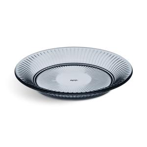 Modrý sklenený tanier Kähler Design Hammershoi Glassplate, ⌀ 22 cm