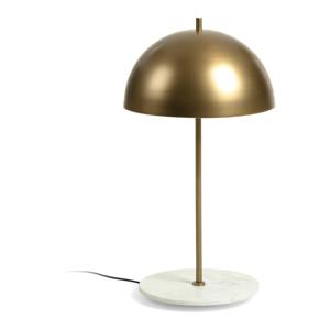 Stolová lampa v zlatej farbe La Forma Biggest, výška 31 cm