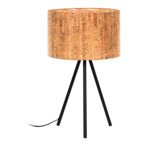 Hnedá stolová lampa La Forma, výška 56 cm