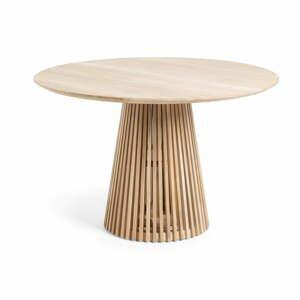 Jedálenský stôl z teakového dreva La Forma Irune, ø 120 cm