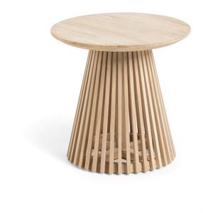 Príručný stolík z teakového dreva La Forma Irune, ø 150 cm