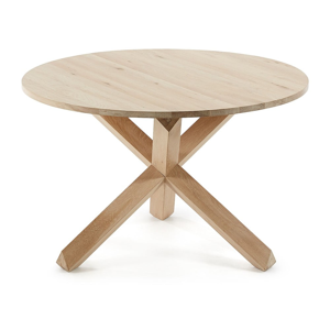 Stôl z dubového dreva La Forma Nori, ⌀120cm