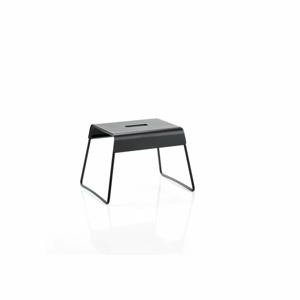Čierna oceľová stolička Zone A-Stool