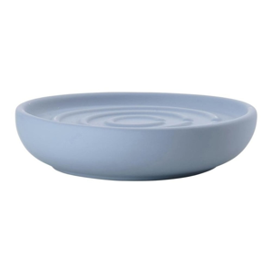 Modrá porcelánová kúpeľňová miska na mýdlo Zone Blue Fog