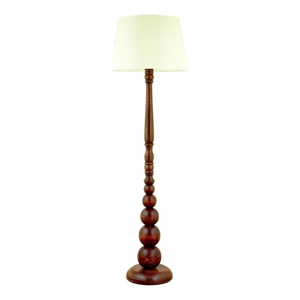 Stojacia lampa z hrabového dreva Güray