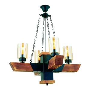 Závesné svietidlo z hrabového dreva Kayra