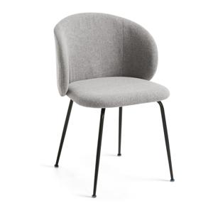 Sivá jedálenská stolička La Forma Minna