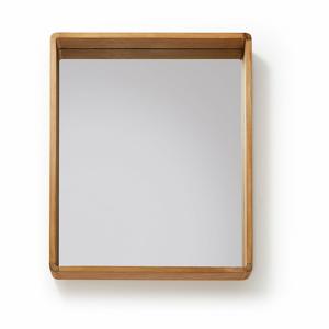 Zrkadlo z teakového dreva La Forma Sunday, 80 x 65 cm