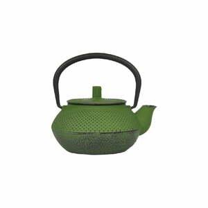Zelená liatinová čajová kanvička Bambum Linden, 300 ml