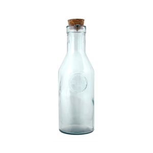 Fľaša z recyklovaného skla Esschert Design Clara, 1l