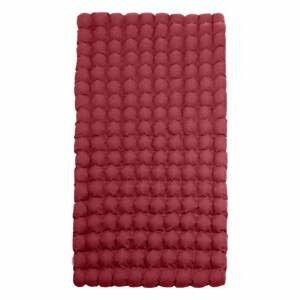 Červený relaxačný masážny matrac Linda Vrňáková Bubbles, 110 × 200 cm