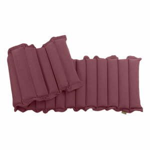 Červeno-fialový relaxačný masážny matrac Linda Vrňáková Waves, 60 × 200 cm