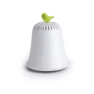 Bielo-zelená pokladnica Qualy&CO Saved The Bell