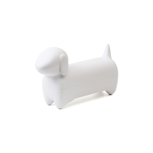 Biele multifunkčné puzdro Qualy&CO Dacholder