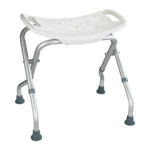 Rozkladacia stolička do sprchy Wenko Secura