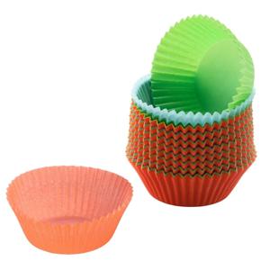 Sada 150 farebných papierových košíčkov na muffiny Kaiser