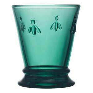 Smaragdovozelený pohár La Rochére Bee, 260 ml