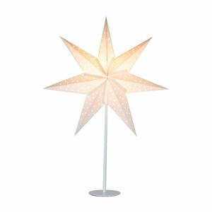 Biela svetelná dekorácia Markslöjd Clara, výška 65 cm