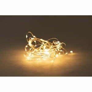 Svetelná reťaz na batérie s LED žiarovkami Luuk, 100 svetielok