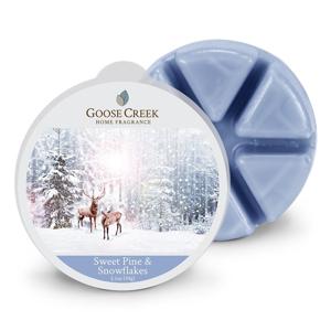 Vonný vosk do aromalampy Goose Creek Snehové vločky, 65 hodín horenia