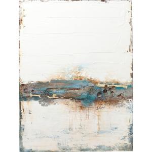 Obraz olejomaľba Kare Design Stroke One, 120 × 90 cm